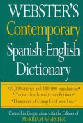 Webster's Contemporary Spanish-English Dictionary (Paperback)
