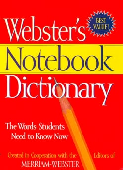 Webster's Notebook Dictionary (Paperback)