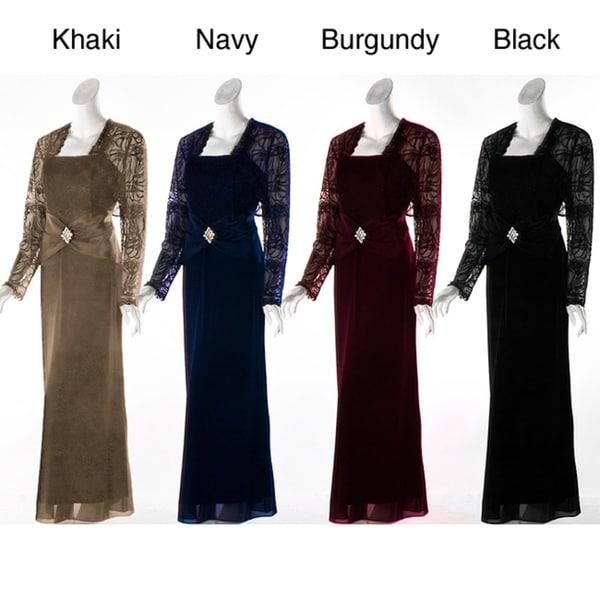 Aspeed Design Women's Lace Jacket Dress