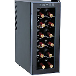 Thermoelectric 12-bottle Slim Wine Cooler