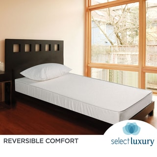 Select Luxury Reversible 7.5-inch Medium Firm Full-size Foam Mattress