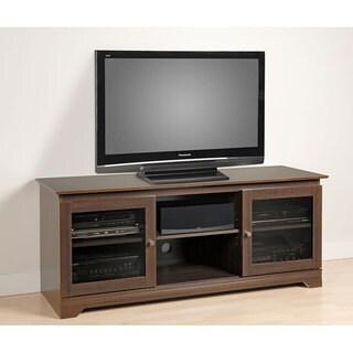 Everett Espresso Flat Panel Plasma / LCD TV Console
