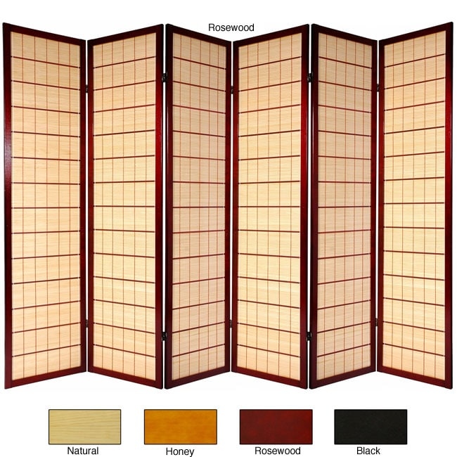 Wooden Kimura 6-panel Room Divider (China)