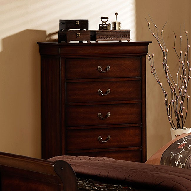 TRIBECCA HOME Madison Louis Philippe 5-drawer Chest