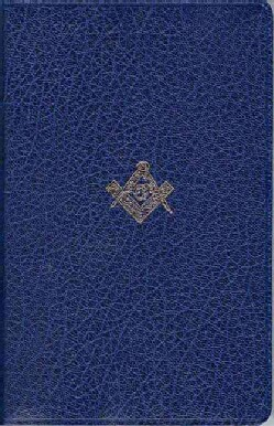 Holy Bible: King James Version, Masonic Edition, Blue Imitation Leather (Hardcover)