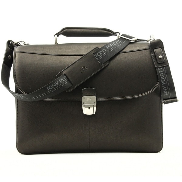 Tony Perotti Milano Double Gusset Briefcase