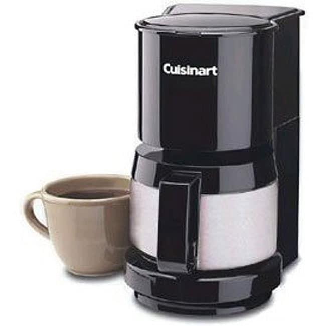 Cuisinart DCC-450BK 4-cup Coffeemaker (Refurbished)