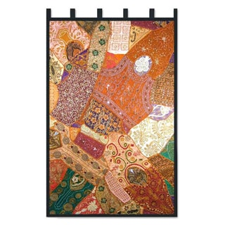 Cotton 'Benevolent Earth' Wall Hanging (India)