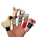 'Playful Farm Animals' Finger Puppets (Peru)
