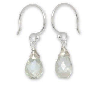 Quartz 'Glowing Exotic' Earrings (Thailand)