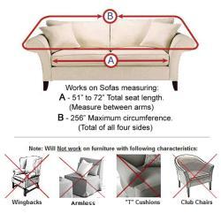 Ultra Suede Sofa Slipcover
