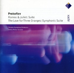 SARASTE/TORONTO SYMPHONY ORCHESTRA - PROKOFIEV: ROMEO & JULIET THE LOVE FOR THREE ORANG