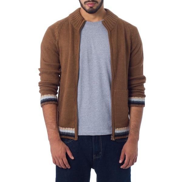 Alpaca Wool 'Cinnamon Elite' Jacket (Peru)