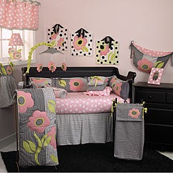 Cotton Tale Poppy 4-piece Crib Bedding Set