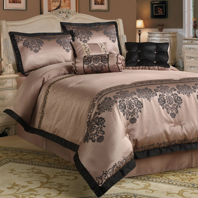 Fontaine Fountain Purple 7-piece Comforter Set