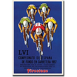 'Campeonato de Espana' Gallery-wrapped Canvas Art