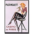 Gesmar 'Mistinguett Casino de Paris' Canvas Art