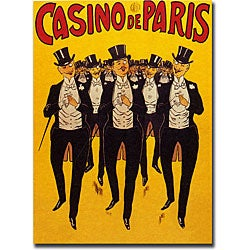 'Casino de Paris' Gallery-wrapped Canvas Art