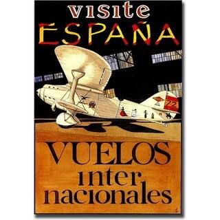 'Visite Espana' Canvas art