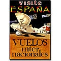 'Visite Espana' Canvas art