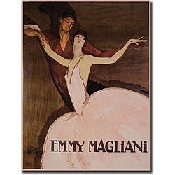 Emmy Rossan 'Emmy Magliani' Gallery-wrapped Art