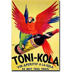Robert Wolff 'Toni Kola' Gallery-wrapped Art