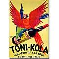 Robert Wolff 'Toni Kola' Gallery-wrapped Art