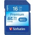Verbatim 96808 16 GB Secure Digital High Capacity (SDHC)
