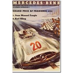 H.Liskars 'Merecedes-Benz' Canvas Art