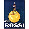 'Aperitif Rossi' Gallery-wrapped Canvas Art