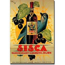 Henry Le Monnier 'Sisca' Gallery-wrapped Canvas Art