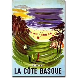 Villemont 'La Cote Basque' Gallery-wrapped Art