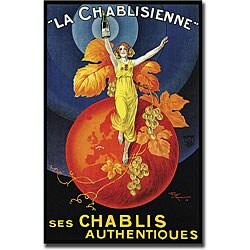 Henri Le Monnier 'La Chablisienne' Canvas Art