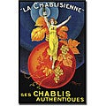 Henri Le Monnier 'La Chablisienne' Canvas Art