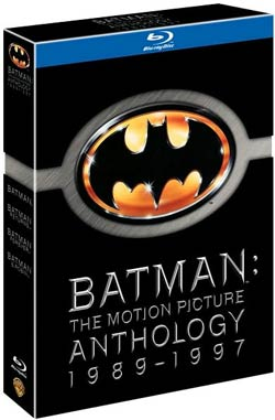 Batman: The Motion Picture Anthology (Blu-ray Disc)
