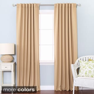 Thermal Rod Pocket 95-inch Blackout Curtain Panel Pair