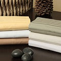 Egyptian Cotton 1200 Thread Count Stripe Sheet Set
