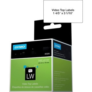 Dymo Video Tape Label