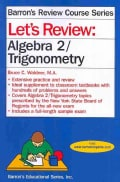 Let's Review Algebra 2/Trigonometry (Paperback)