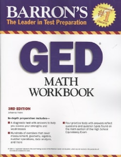 Barron's GED Math Workbook (Paperback)