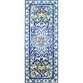 Architectural Bahar Design Mosaic 40-tile Ceramic Wall Mural
