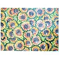 Sunflower Seeds Design 12-tile Ceramic Wall Mural