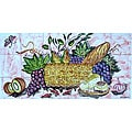 Decorative Backsplash 18-tile Ceramic Wall Mural