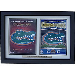 Florida Gators 2006 National Football Championship Framed Print