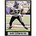 Baltimore Ravens' Ray Lewis 9x12 Photo Plaque