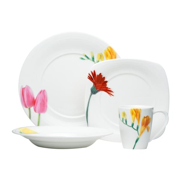 Red Vanilla Dutch Garden 16-piece Dinner Set 5082860