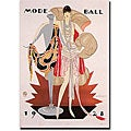 'Mode Ball 1928' Gallery-wrapped Canvas Art