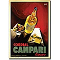 'Cordial Campari Liquor' Gallery-wrapped Art