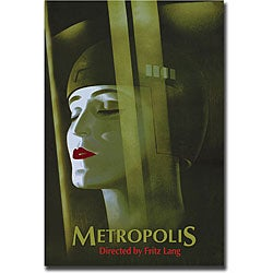 Werner Graul 'Metropolis' Gallery-wrapped Art