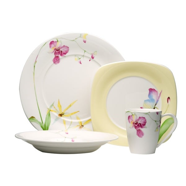 Red Vanilla Leilani 16-piece Dinnerware Set 5082890